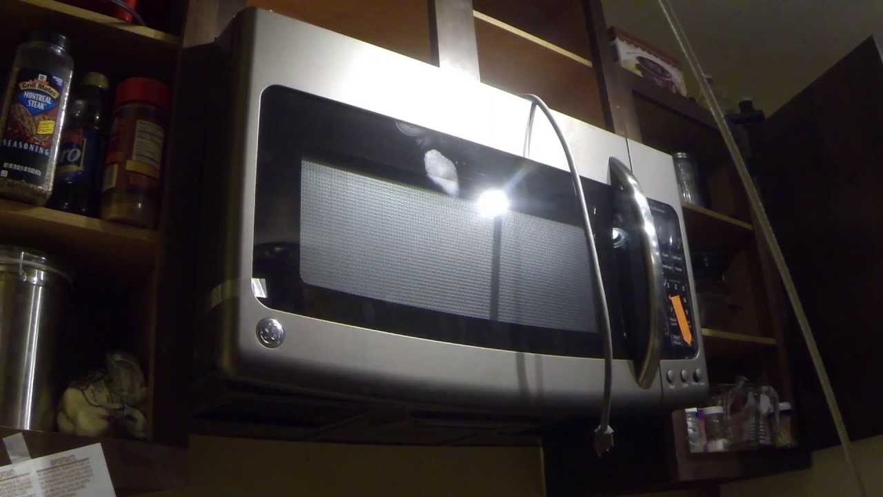 How To Install A Ge Adora Over The Range Microwave Oven