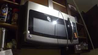 How to install a GE Adora Over the Range Microwave Oven.