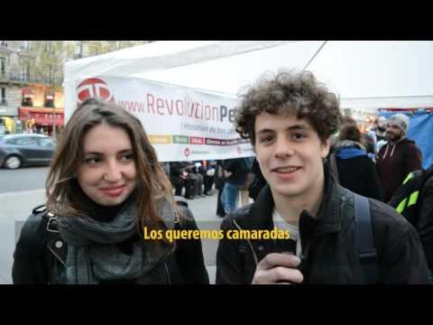 Saludo desde Francia al Acto contra el golpe en Brasil y el ajuste de Macri