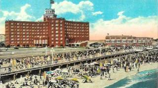 Johnny Marvin - Jersey Walk 1926 Vintage Asbury Park New Jersey NJ Postcards