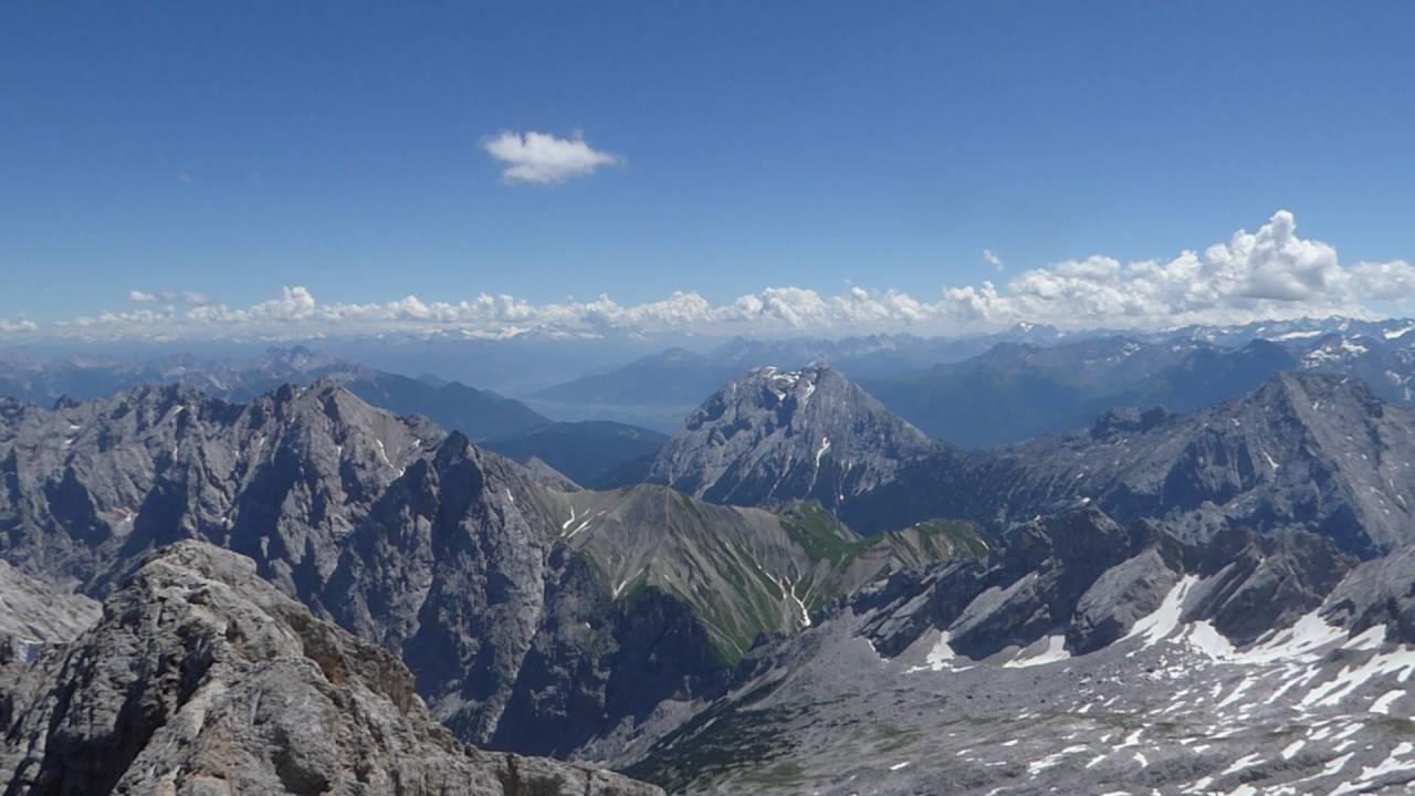 Zugspitze Panorama Zugspitze - Panorama 2...