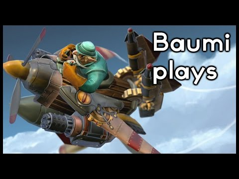 Dota 2 | JUST A SPECTATOR!! | Baumi plays Gyrocopter