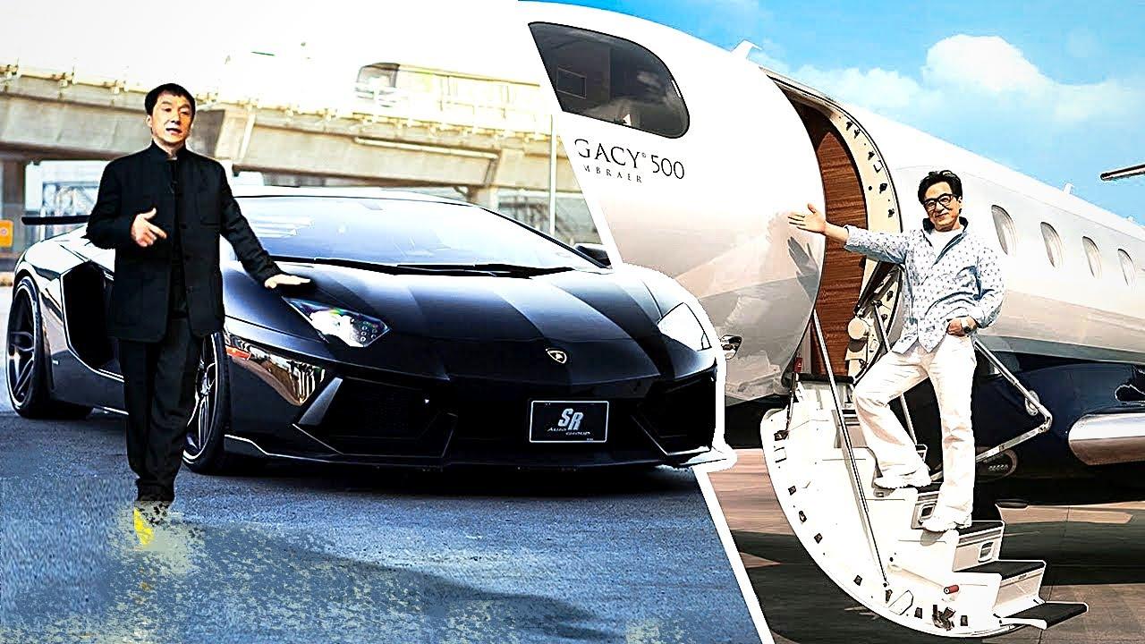 شاهدوا كيف ينفق جاكي شان ثروته التي تقدر بـ400 مليون دولار على حياته الفاخرة بشكل لا يصدق ..!!