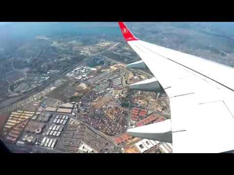 Turkey, Istambul, Ataturk airport, 2016-07-14 14:00 Takeoff Timelapse