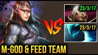 HOW To Carry FEEDING Team - Miracle- [Terrorblade] Dota 2