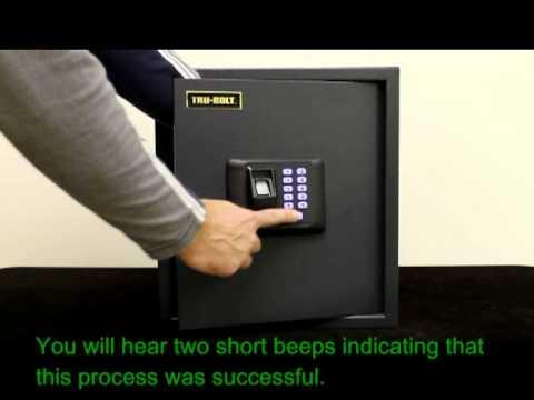 biometric safe reset to factory defaults - Biometric Safe