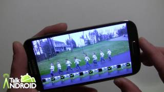 How to take a Drama Shot and Erase unwanted objects with the Samsung Galaxy S 4 camera