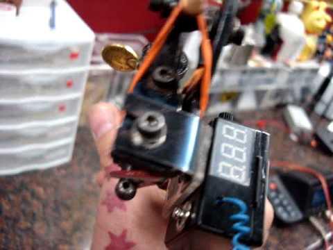Wireless Tattoo Machine Power Supply By Piggy Bac Youtube