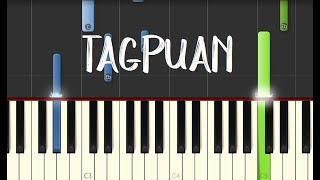 Moira Dela Torre - TAGPUAN || Synthesia Piano Tutorial