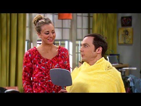 Sheldon Se Corta El Cabello | The Big Bang Theory (Español Latino)