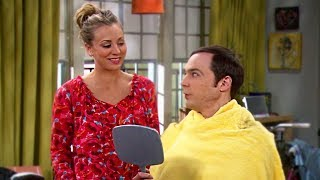 Sheldon se corta el cabello | The Big Bang Theory (Español Latino)