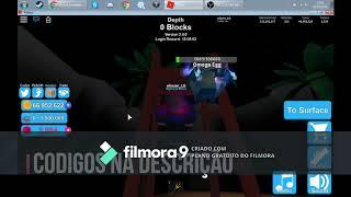 Codes do Mining Simulator.