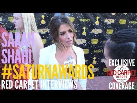 Sarah Shahi #Reverie interviewed at the 43rd Annual Saturn Awards #SaturnAwards