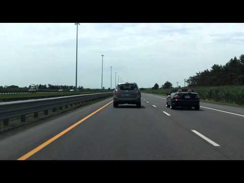 North Belt Expressway (Autoroute 640 Exits 52 to 42) westbound