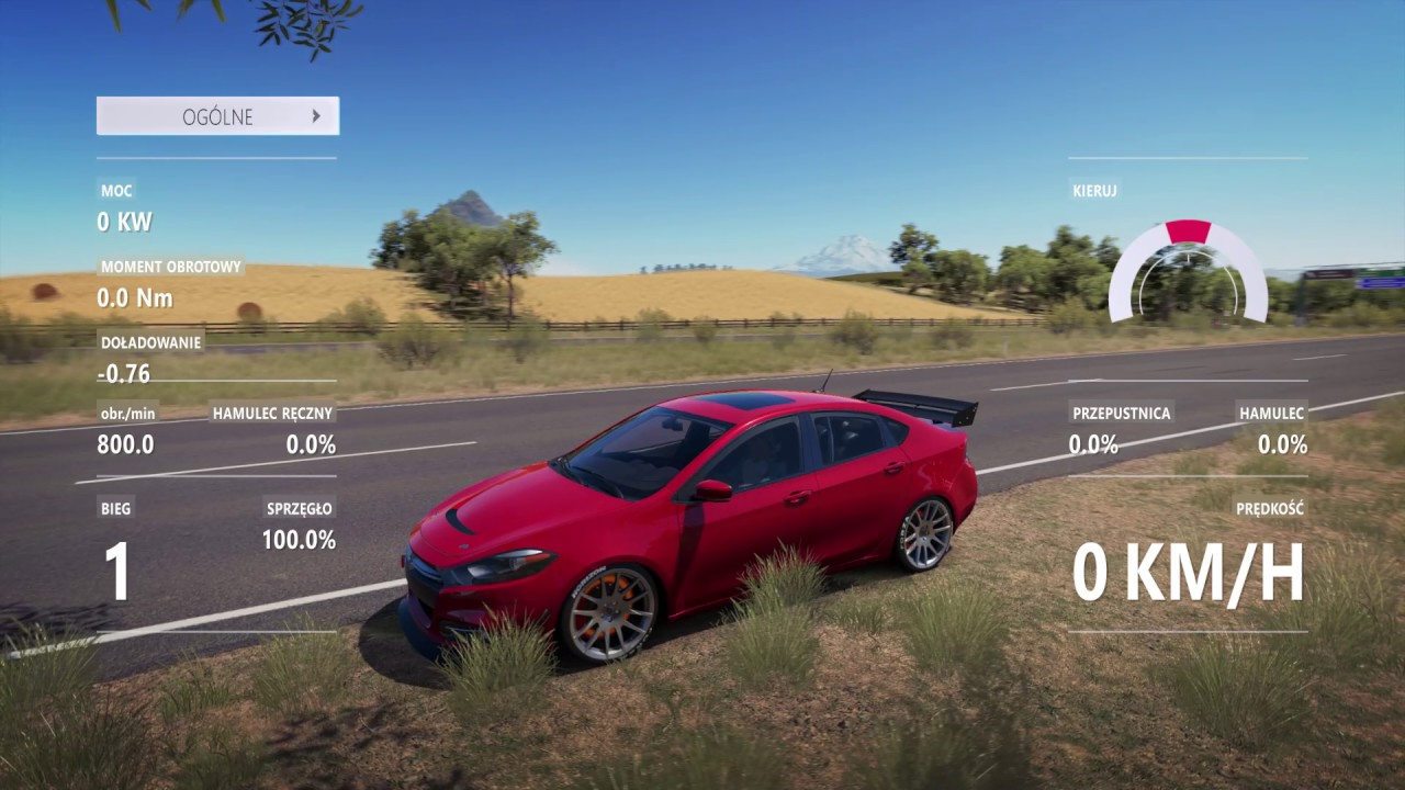 Forza Horizon 3 Tuning 2013 Dodge Dart Gt Top Speed Youtube