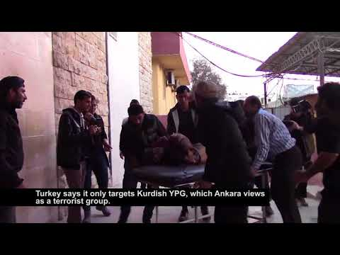 Civilians Pay Heavy Price as Fighting Nears Afrin in Northern Syria