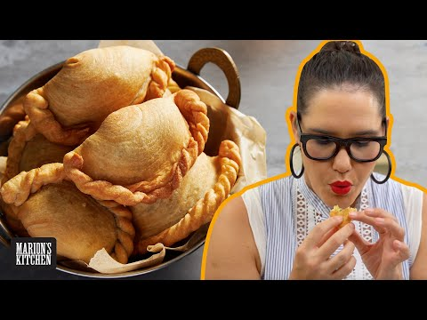 The snack I can't stop eating | CRISPY CURRY PUFFS & homemade curry puff pastry | Marion's Kitchen