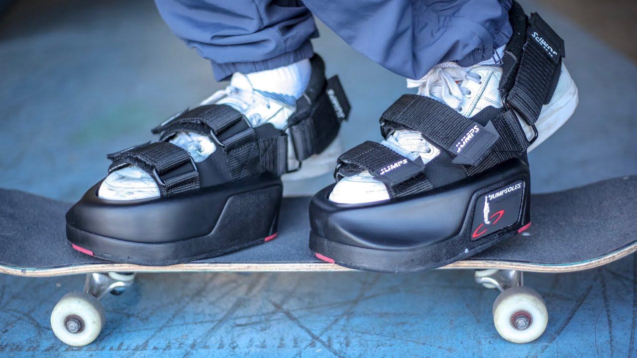 ANTI-GRAVITY JUMP SHOES?!? | MYSTERY BOX STUPID SKATE