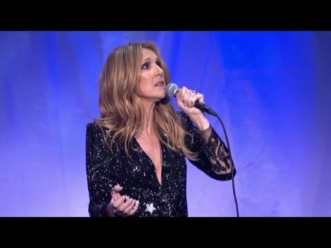 Céline Dion torna a cantare a Las Vegas dopo la morte del marito