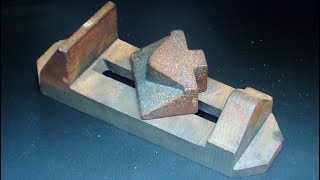 Make a Drill Press Vise From Castings Tips #433 pt1 tubalcain