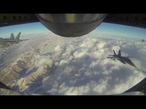 KC-135 Combat Deployment Afghanistan Operation Enduring Freedom 2013 (1080 HD)