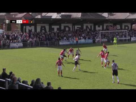 2017 04 22 Maidenhead Utd v Ebbsfleet Utd Highlights