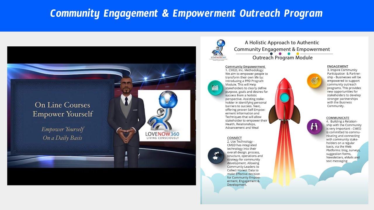 Community Engagement   Empowerment Outreach Program Module