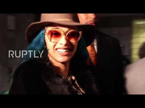 USA: Rapper Cardi B arrives in court over strip club assault charge Mp3