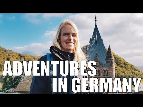 Cologne & Bonn, Germany | travel vlog: Cologne Cathedral, Drachenburg Castle, Drachenfels