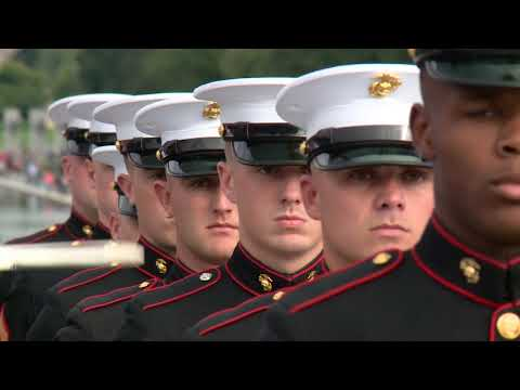 Marine Corps Silent Drill Washington DC October 2017