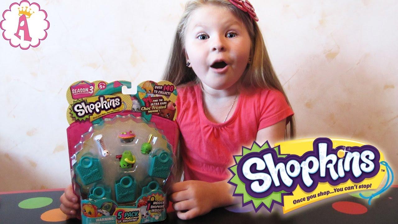 Шопкинс сезон 3 распаковка игрушек Shopkins Season 3 Toys ...