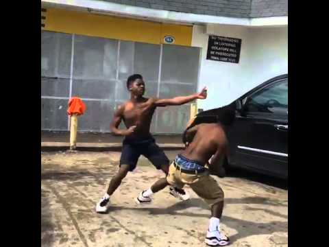 Fight at the bottom store