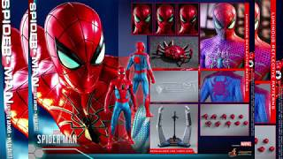 Spider-Man PS4 Hot Toys Mark IV Armor Spider-Man 1/6 Scale Figure Reveal!