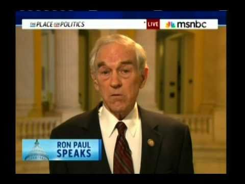 Ron Paul On 2012, Taxes, Unions & More (Cenk Uygur MSNBC Interview)