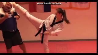 Gruby vs Mistrzyni Taekwondo