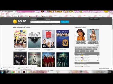 How To Download Movies On SolarMovie on PC/COMPUTER streaming vf