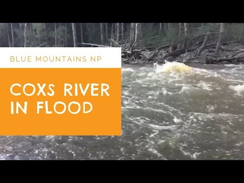 K2K Coxs River Crossing In Flood