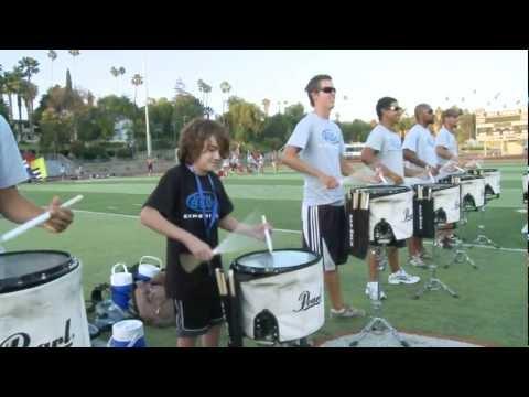 2010 Blue Devils drumline - 12 yr old Brandon MORE