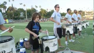 2010 Blue Devils drumline - 12 yr old Brandon MORE