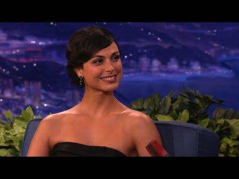 Morena Baccarin: President Obama Saw My Boobs!  Conan on TBS