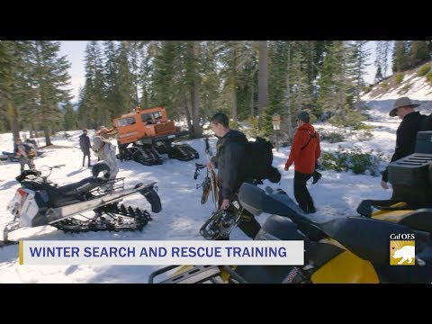 LIVE: Winter Search & Rescue Training on Mt. Shasta
