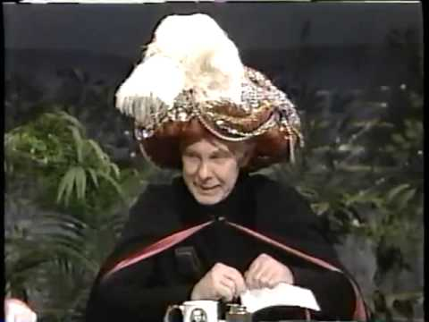 1000+ images about Johnny Carson on Pinterest | Johnny ...  |Amazing Carnac Johnny Carson Bit