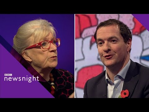 'We did get things wrong' - George Osborne INTERVIEW and DISCUSSION - BBC Newsnight