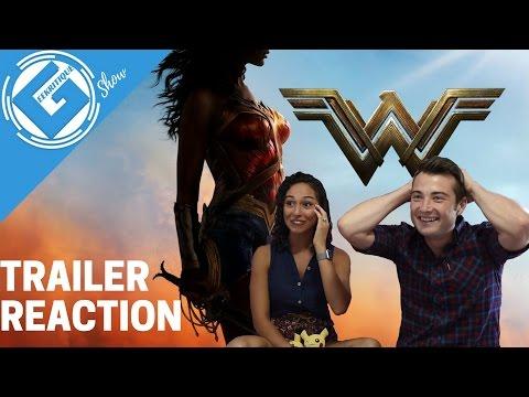 Wonder Woman Comic-Con - Trailer Reaction