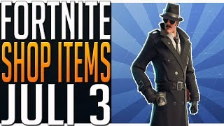 Fortnite Shop Items Today. Last Chance to Buy Sleuth, Noir or Gumshoe Skins