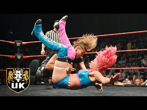 NXT UK Women's Champion Rhea Ripley vs. Candy Floss: NXT UK, Dec. 5, 2018