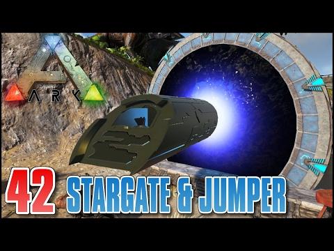 ARK Zoo #E42 - STARGATE MOD & PUDDLE JUMPER