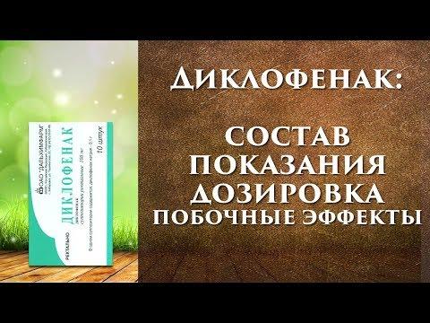 Диклофенак инструкция, уколы, мазь, таблетки, свечи, капли.