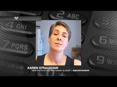 Cenk Uygur Butts Heads With Men's Rights Activist Karen Straughan