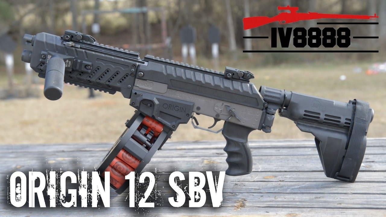 "New for 2017: Fostech Origin 12 SBV Non-NFA ""Firearm"""